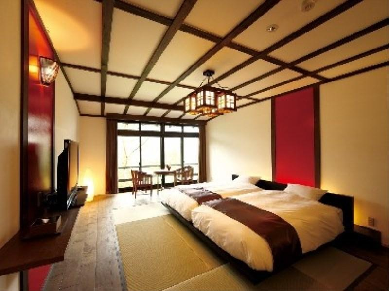 다다미 객실(2베드/실내툇마루) (Japanese-style Room with Hiroen Space (2 Beds))