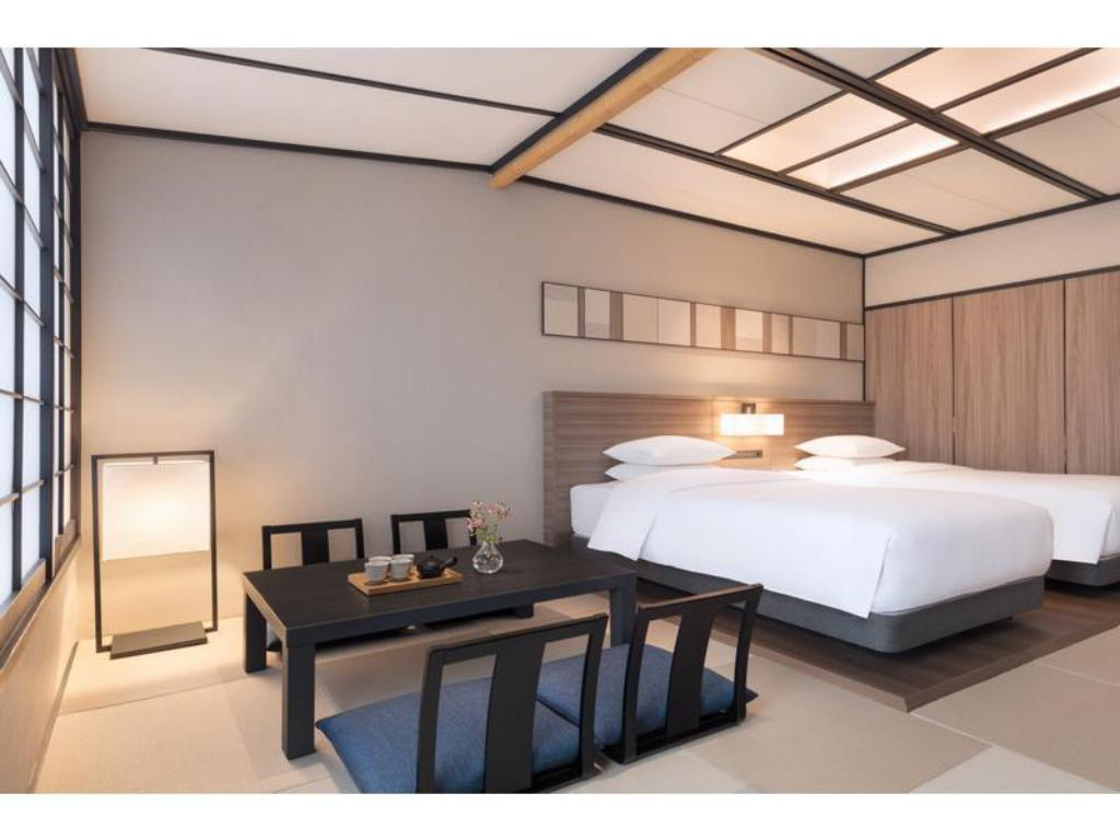 Japanese-style Room with Bed(s) - Guestroom Izu Marriott Hotel Shuzenji