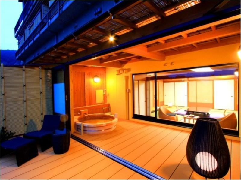 다다미 객실(특별실 SUIFUYO/테라스/노천탕) (Special Room with Terrace & Open-air Bath (Suifuyo Type))