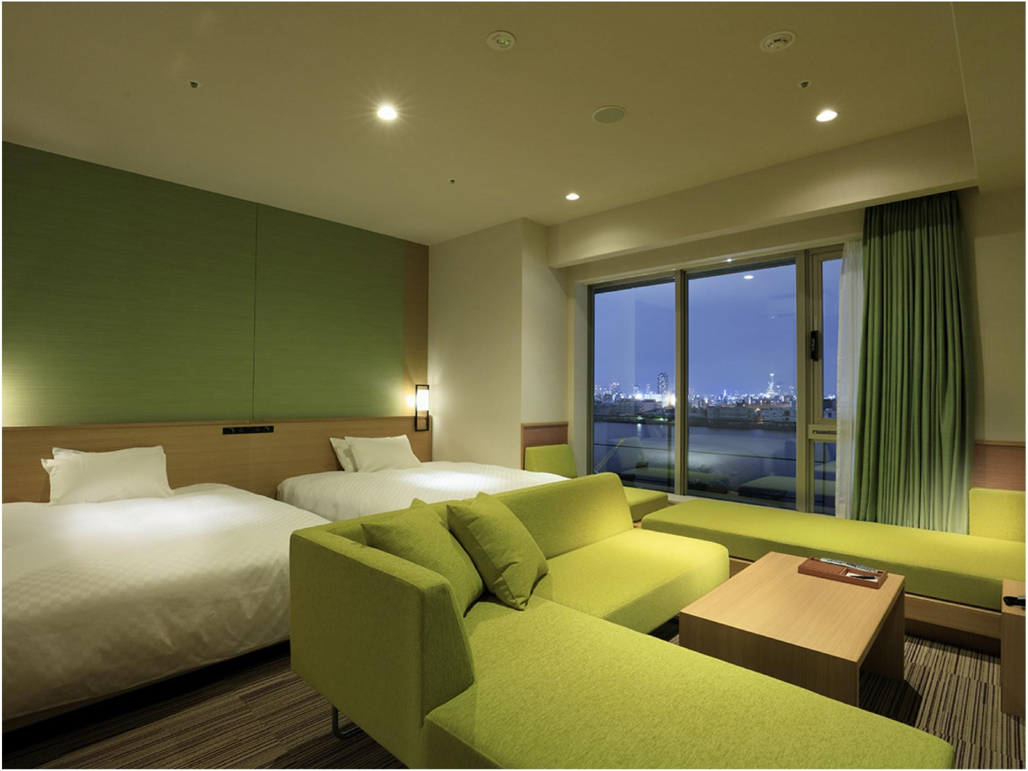 Singulari豪华双人双床房 (Singulari Deluxe Twin Room)