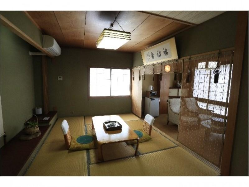 다다미 객실 (Japanese-style Room with Hot Spring Bath (4th Floor, River Side))