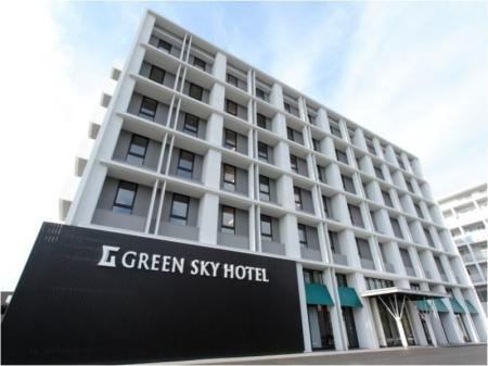 竹原綠色天空酒店 (Green Sky Hotel Takehara)