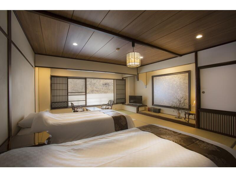 和式房 (2020年4月1日起禁菸) (Japanese-style Room (2 Japanese Beds))