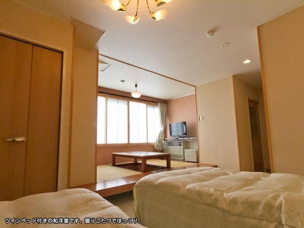 Japanese/Western-style Room (Twin Beds) *No pets - ห้องพัก