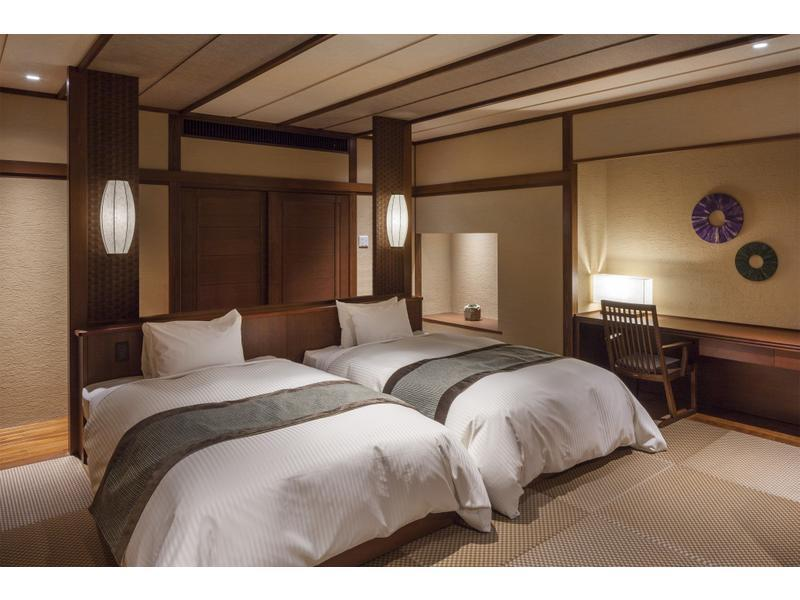 Modern Japanese-style Twin Room (2 Beds)