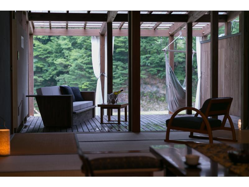 Detached Japanese-style Room with Open-air Bath