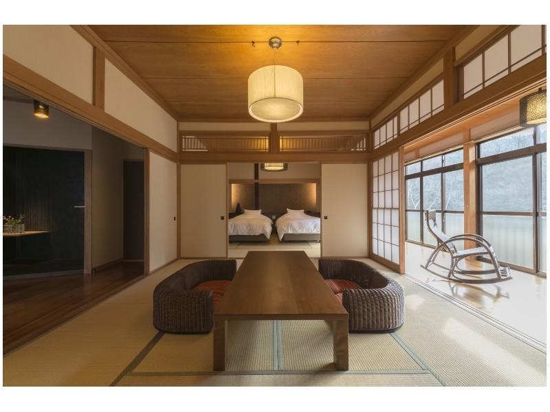 Detached Japanese-style Room with Open-air Bath (2 Beds)