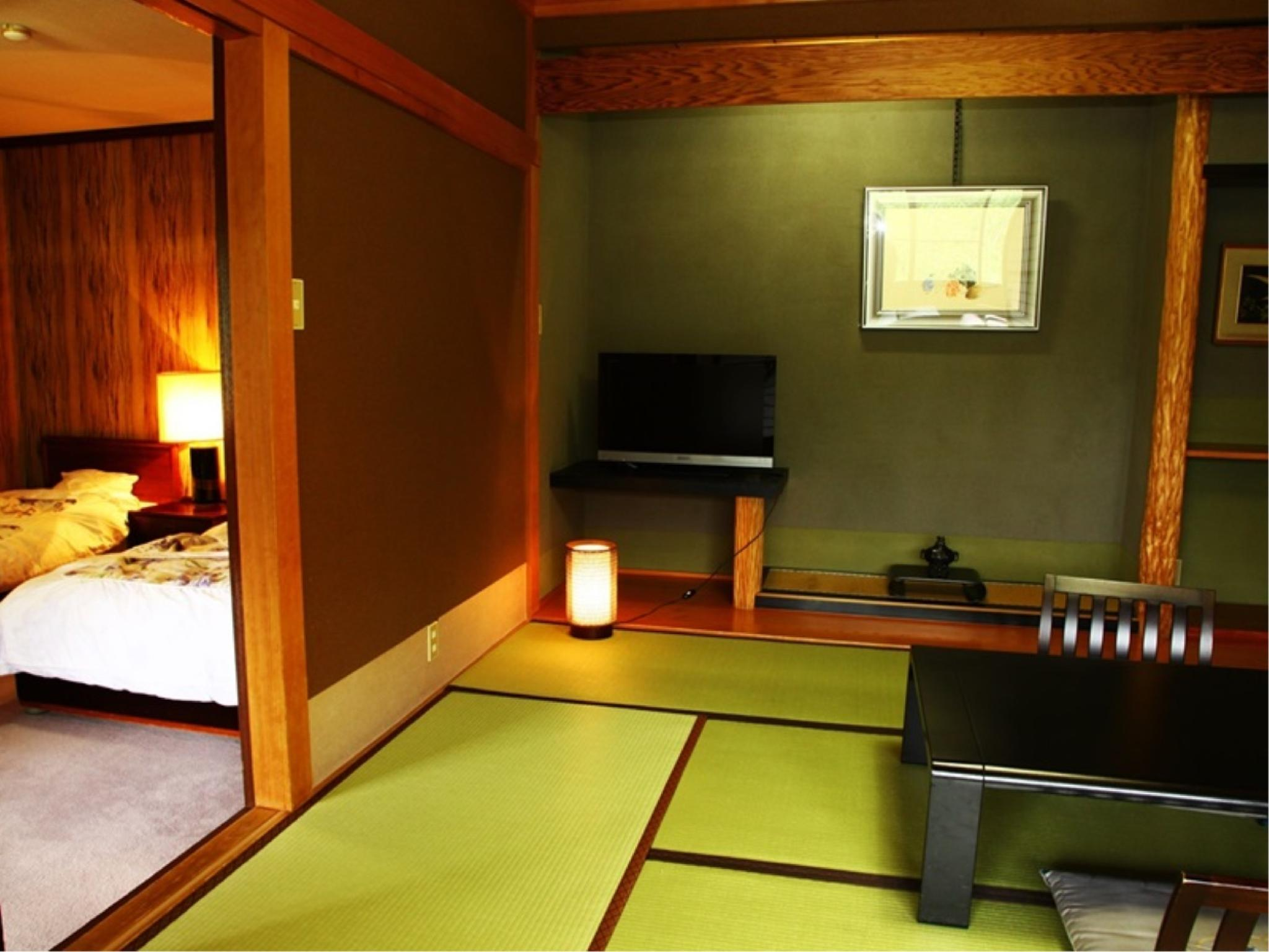 다다미 침대 객실 (Special Japanese/Western-style Room (2 Beds, Main Building))