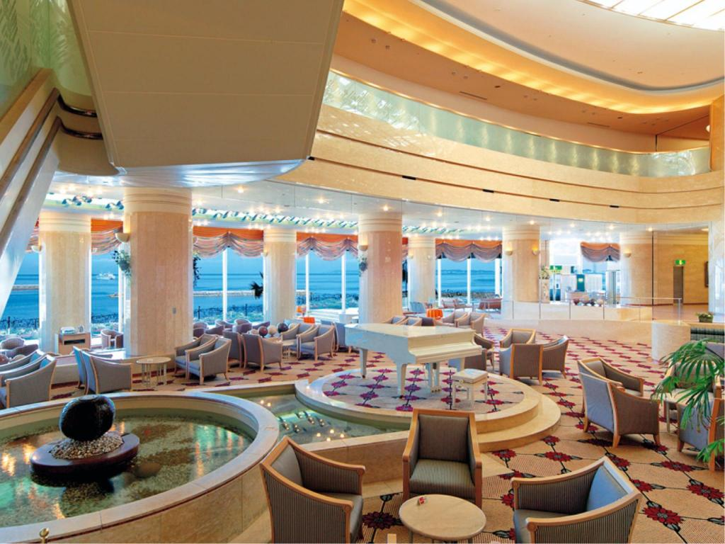 大堂 伊良湖海洋公园及Spa酒店 (Irago Sea-Park & Spa)