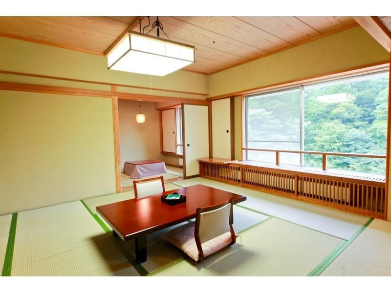 Special Japanese-style Room with Cypress Bath + Hot Spring Heater (Premium Mokuyo-kan Wing)