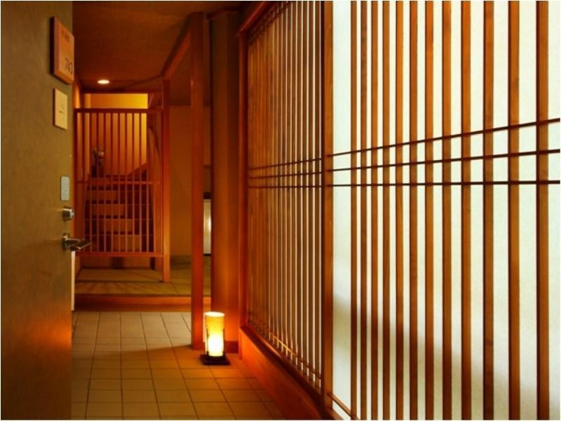 Special Maisonette with Hot Spring Heater (Mokuyo Wing, Top Floor)