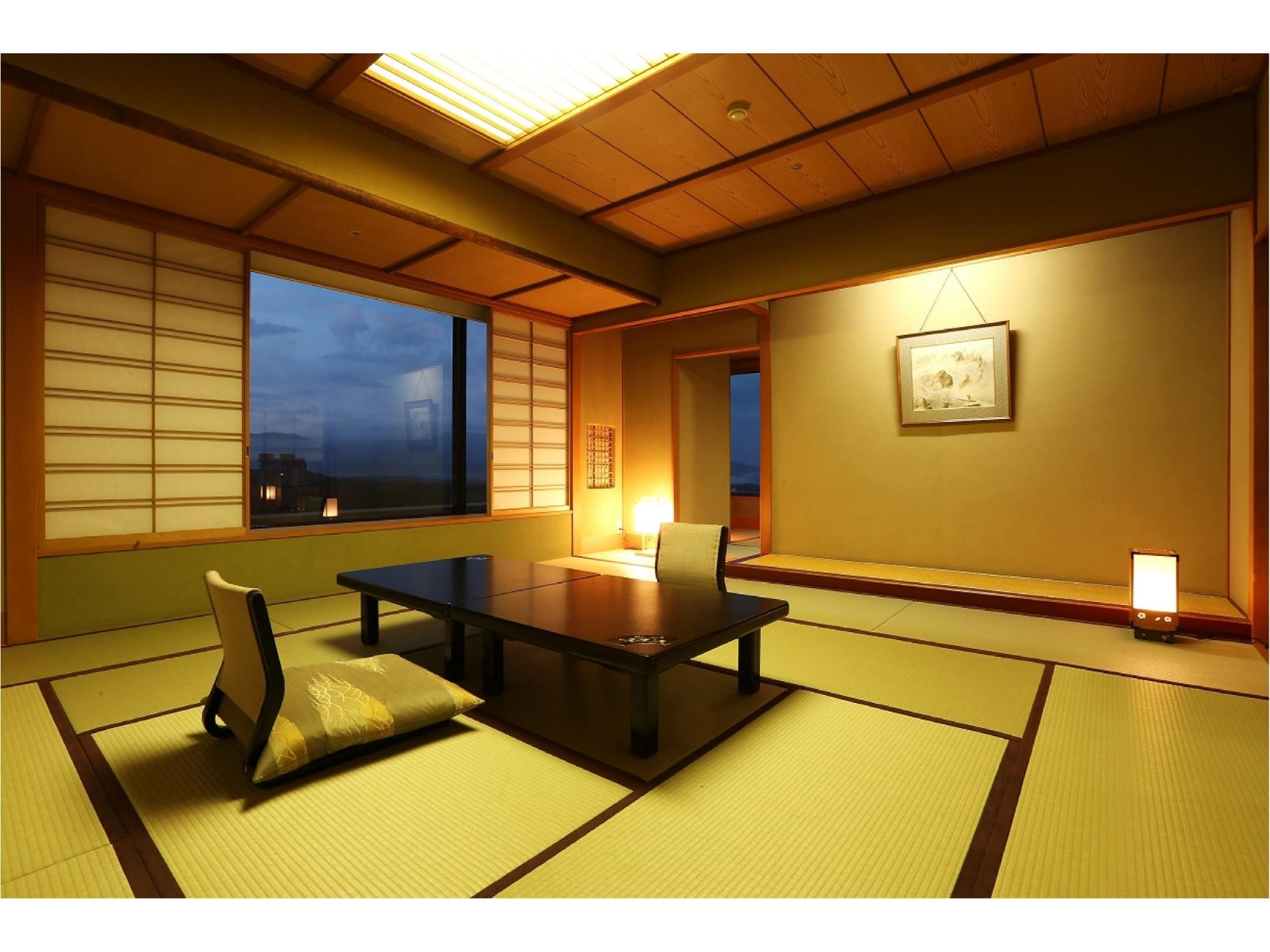 和室 (Japanese-style Room (Shinkyakuden Wing))