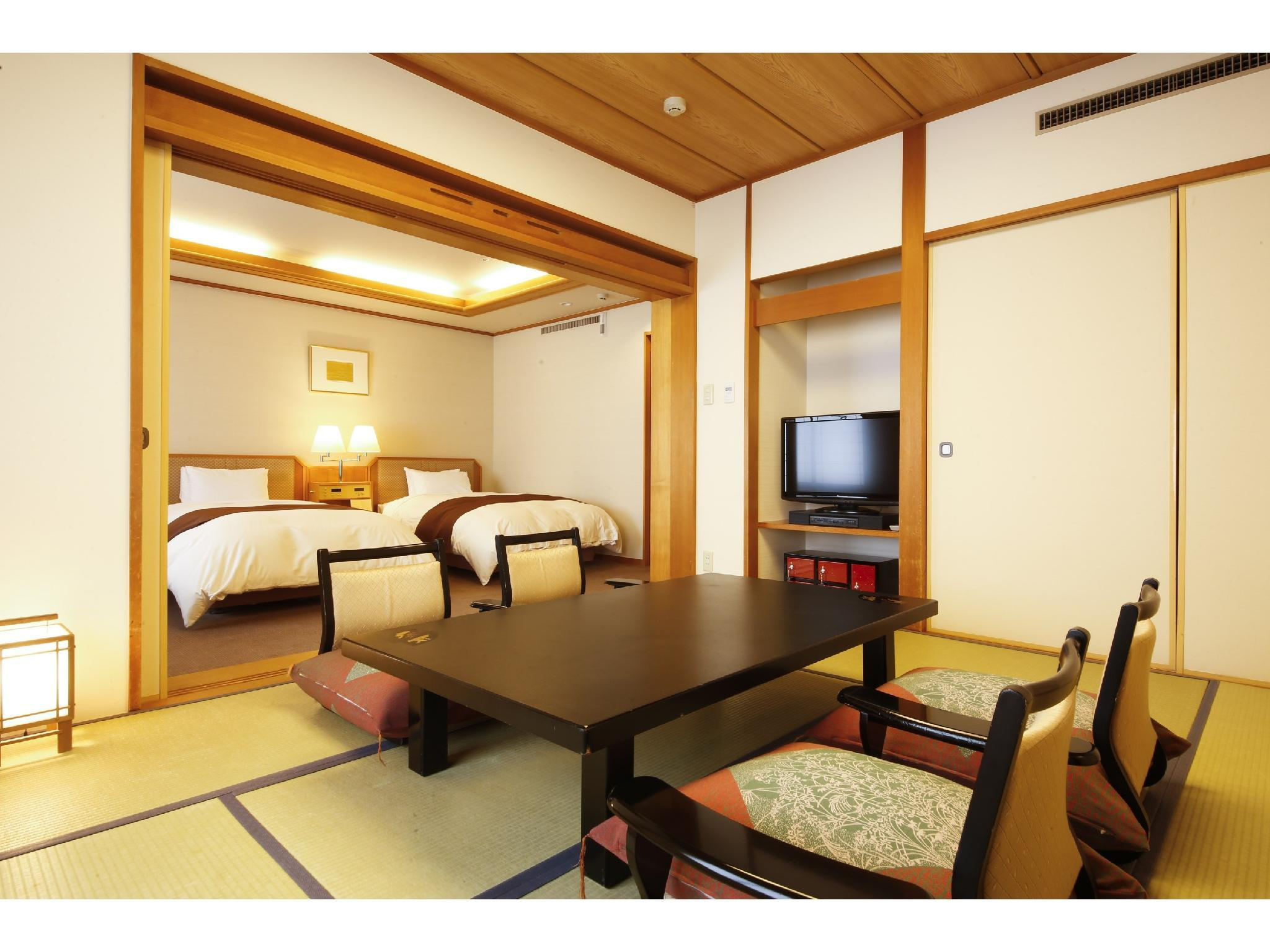 Japanese/Western-style Room (2 Beds)