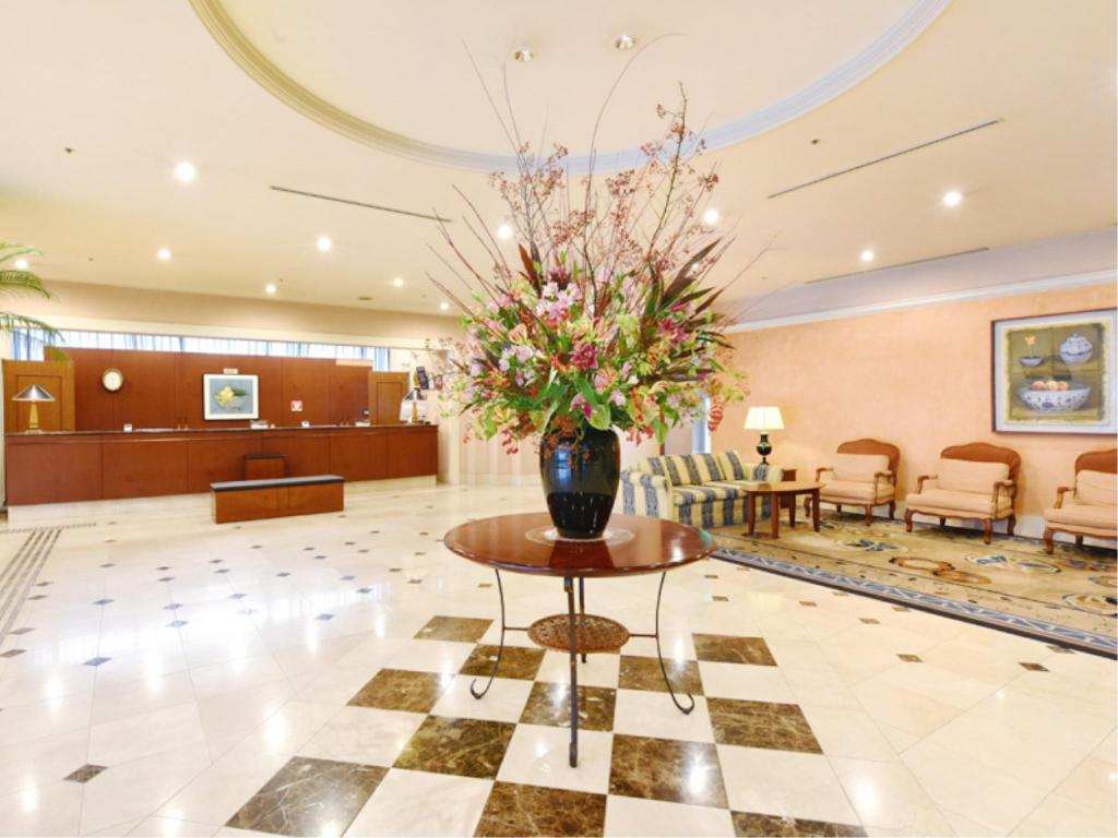 大廳 知立皇冠酒店 (Hotel Crown Palais Chiryu)