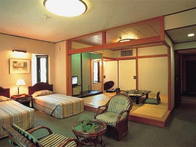 和洋式房 (Japanese/Western-style Room (2 Beds, New Building))