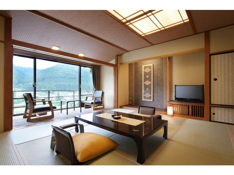 本館 和室一間タイプ 禁煙|12.5畳+踏込 (Japanese-style Room (Main Building) *Non-smoking/smoking not selectable)