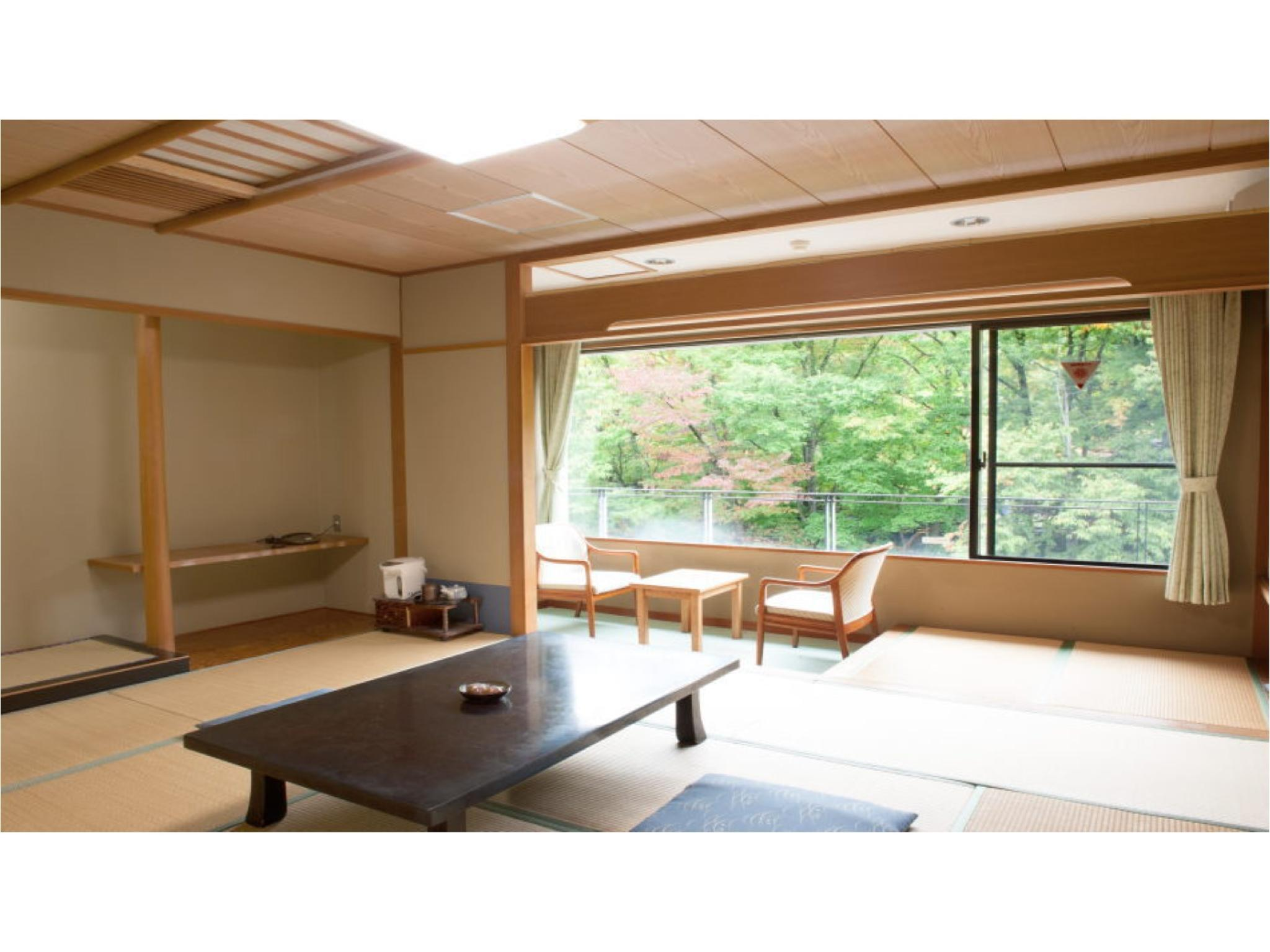 Japanese-style Room or Bedroom *Allocated on arrival