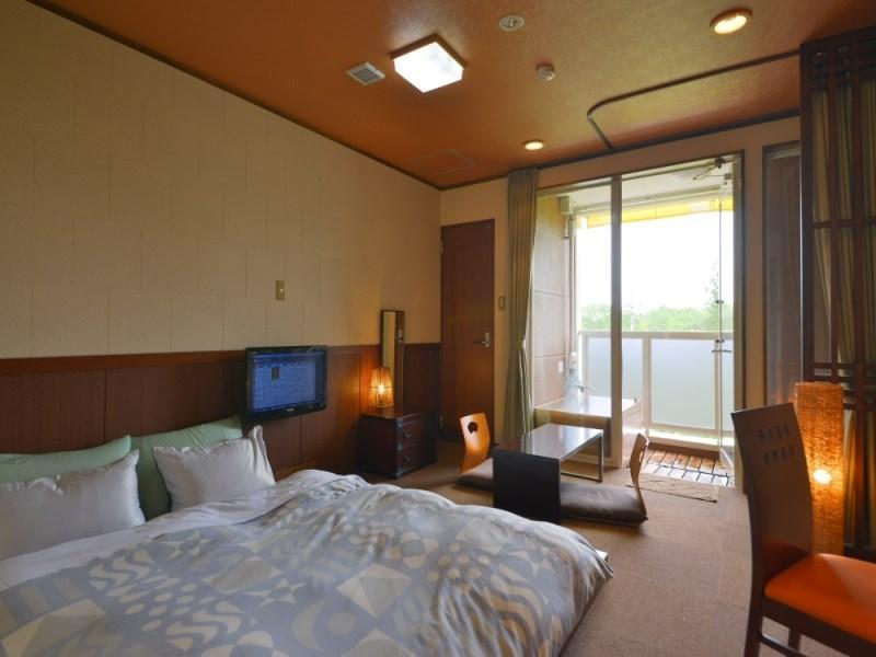 豪華雙人房 - 有露天浴池 (Deluxe Double Room with Open-Air Bath)