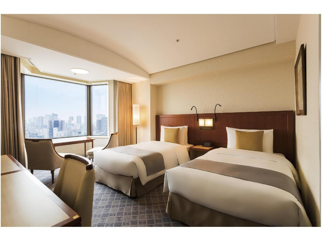 Standard Twin Room (Tower Wing) - Guestroom Imperial Hotel Tokyo