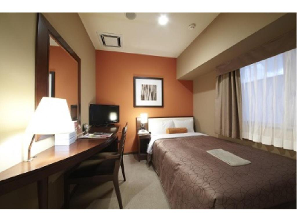 Single Room (Type A, Main Building) - Guestroom Hotel Sunroute Gotanda