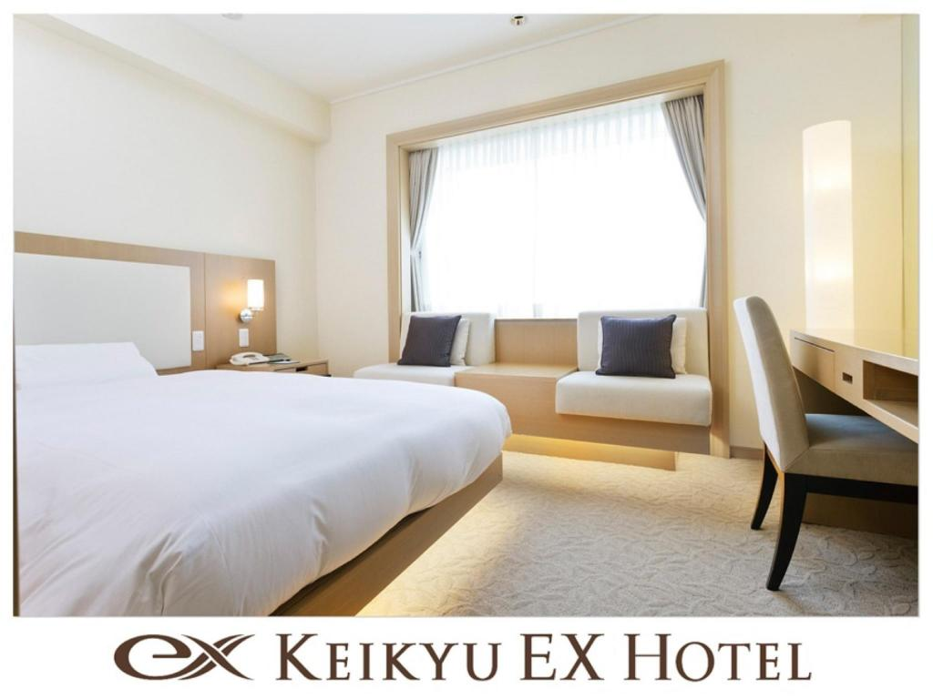 EX Single Room (Semi-double Bed, Upper Floors) - Guestroom Keikyu EX Hotel Shinagawa (located inside Shinagawa GOOS)