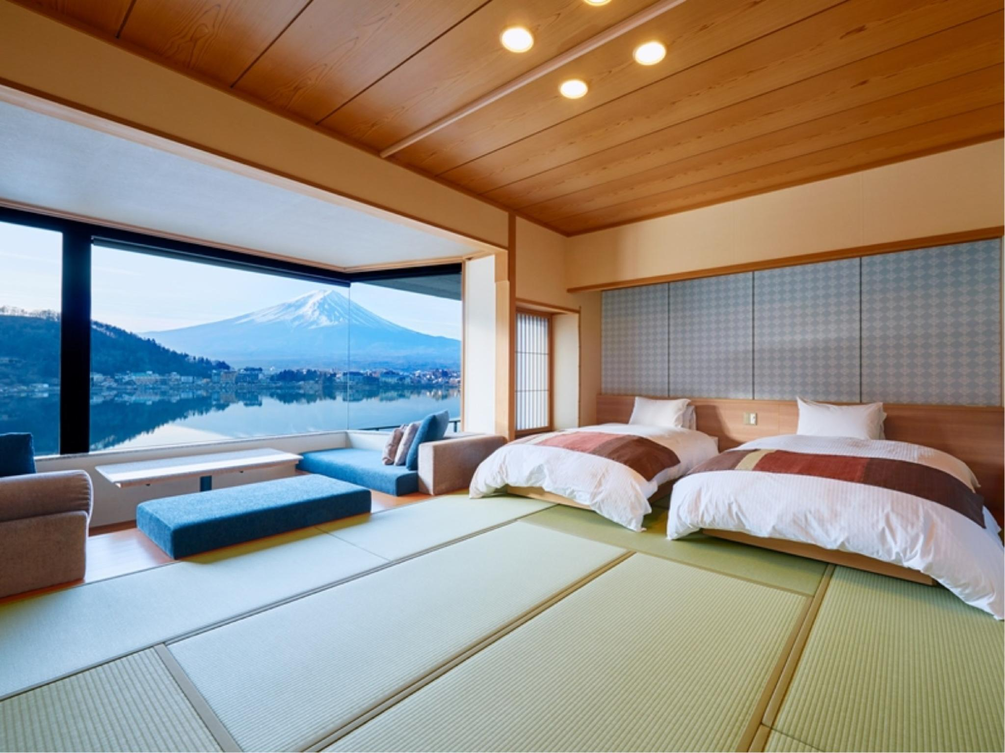 和洋式房 (Japanese-style Room (2 Beds))