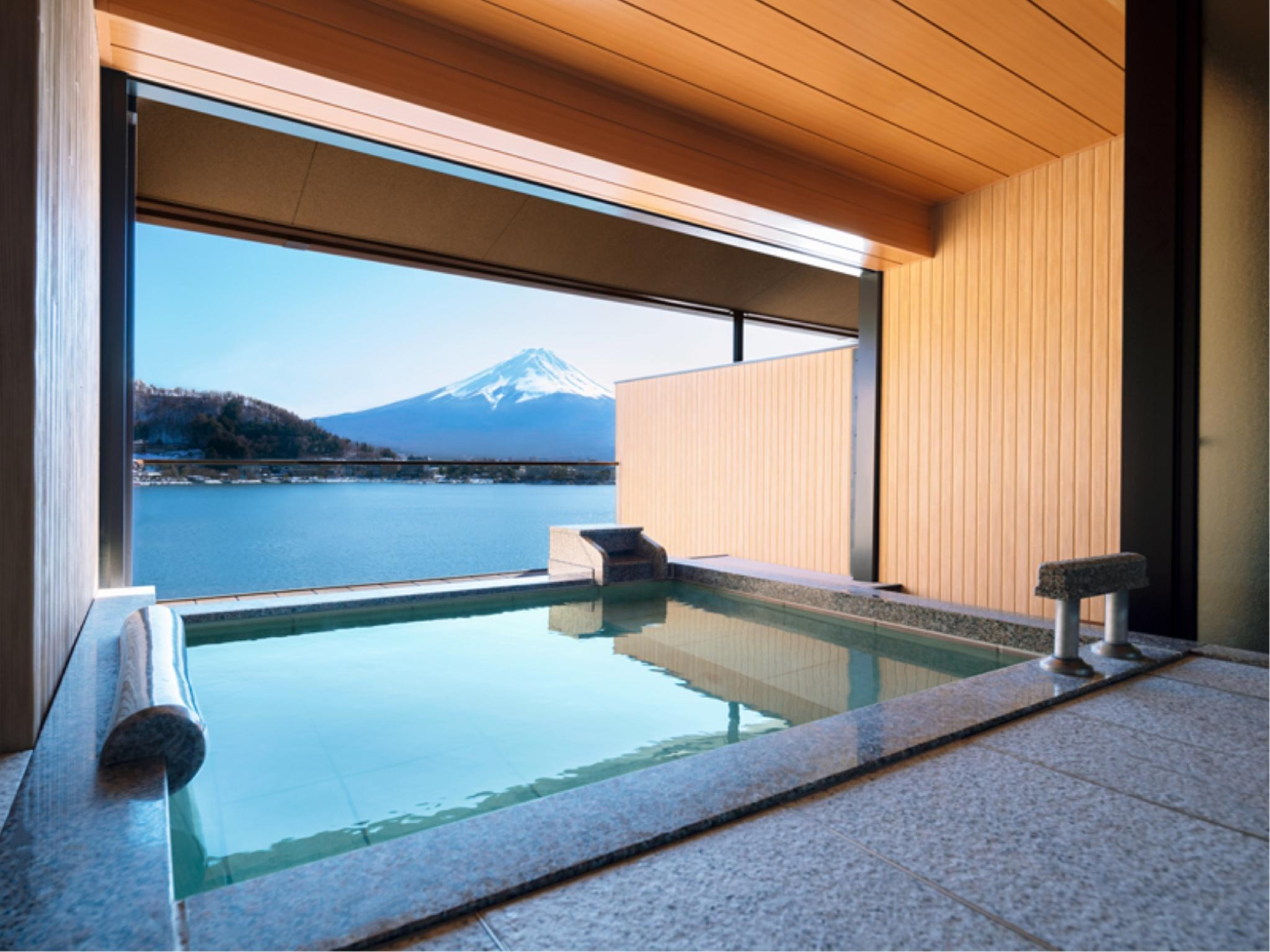 Deluxe Japanese/Western-style Room with Open-air Bath (2 Beds)