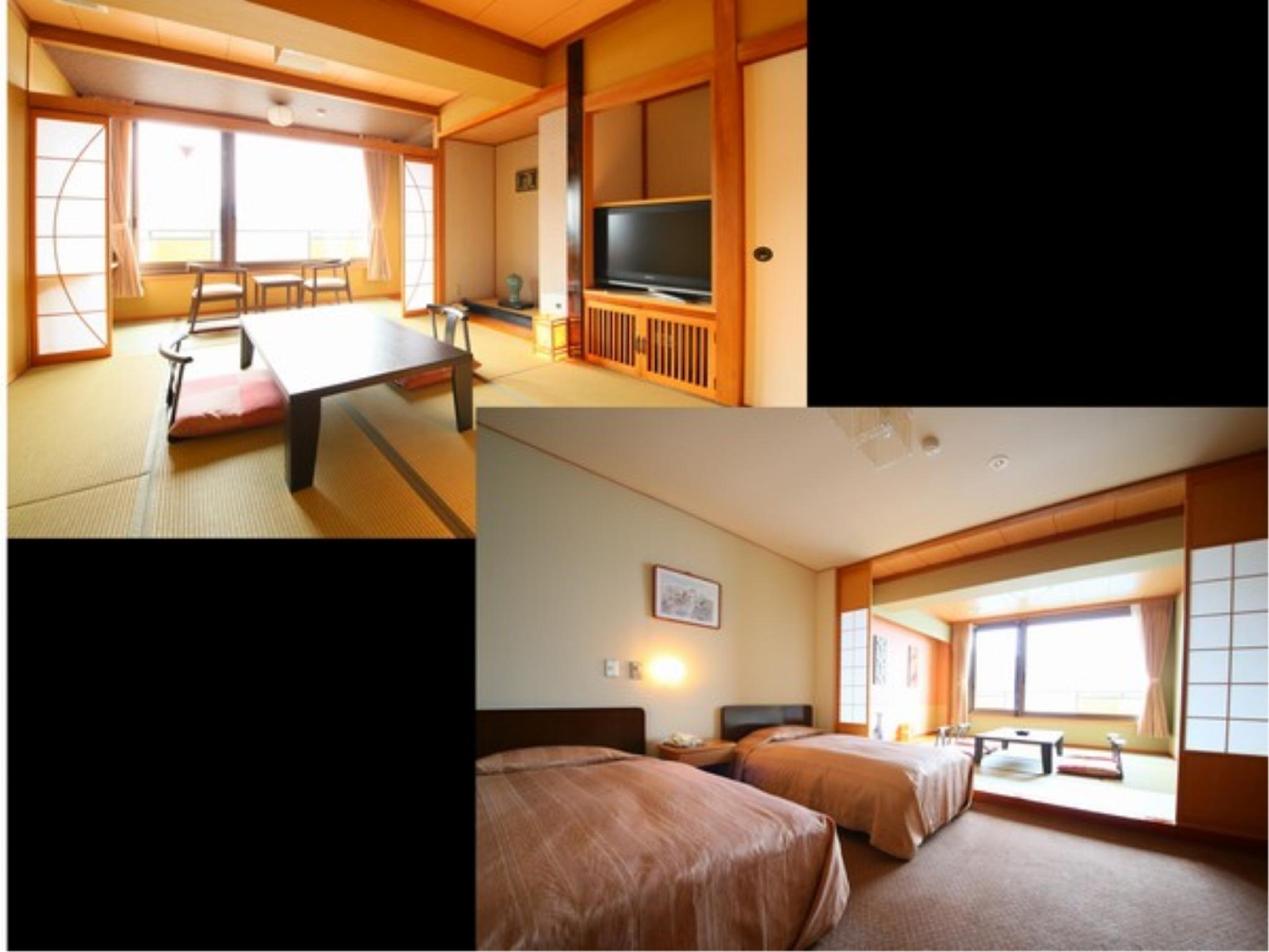 本館 標準和式房或和洋式房 (Standard Japanese-style Room or Japanese/Western-style Room (Main Building))