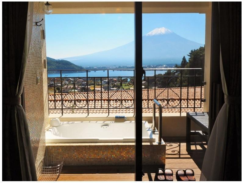 "【禁煙】""ラビスタ""ダブル (La Vista Double Room with Open-air Bath)"