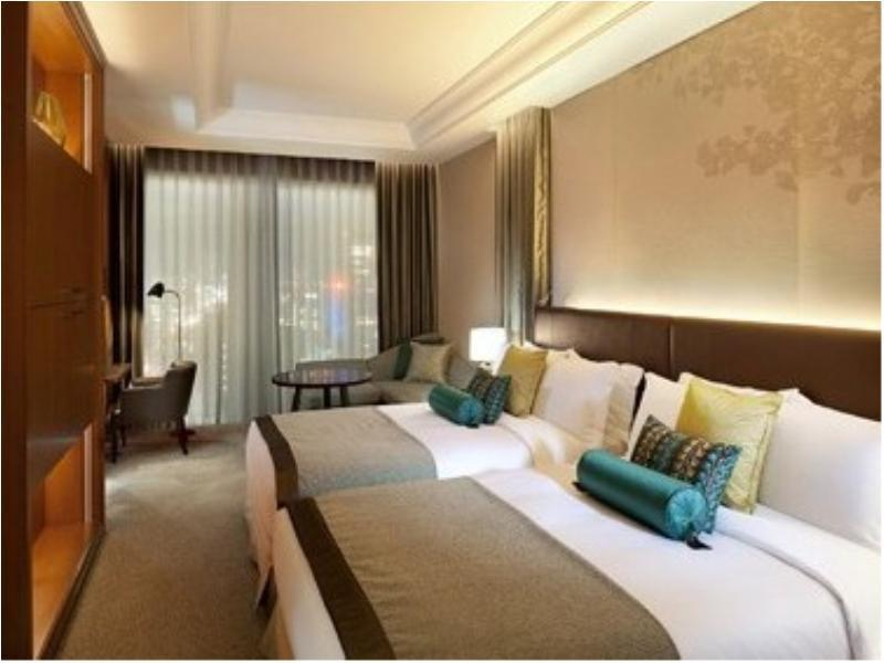 Grand Deluxe Twin Room with Scenic View Bath