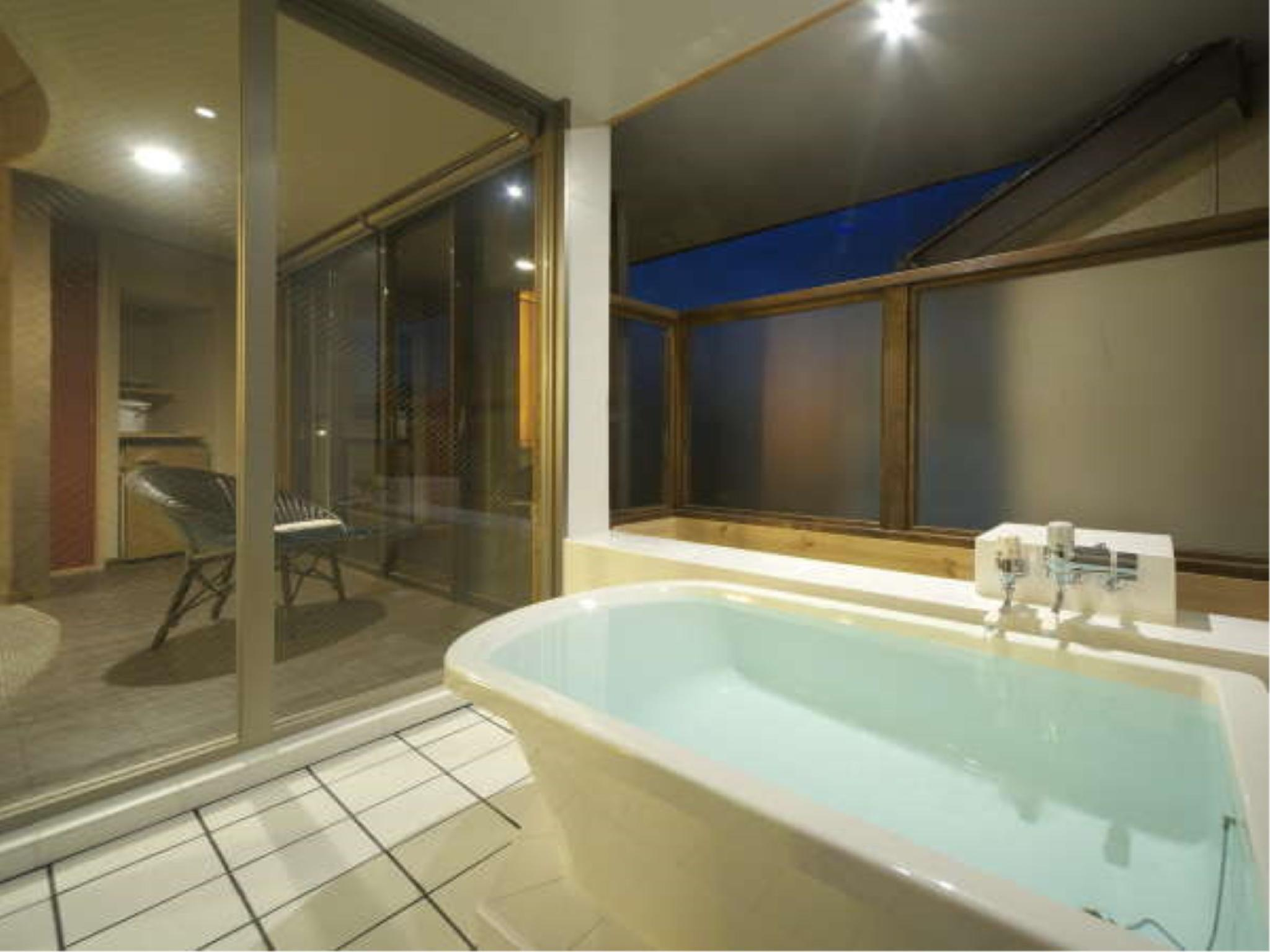 Double Room with Open-air Bath (Tenjin Type)