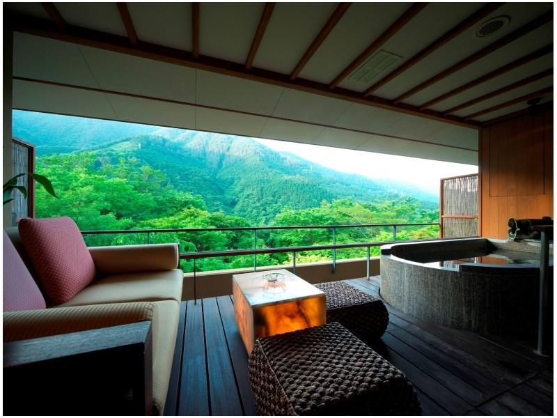 Japanese-style Room with Open-air Bath (Hoshi Type)