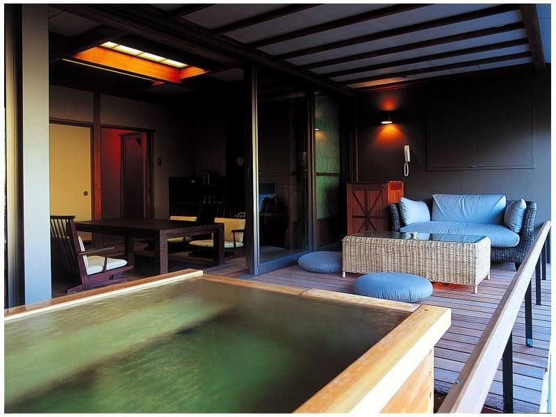 Japanese-style Room with Open-air Bath (Sora Type)