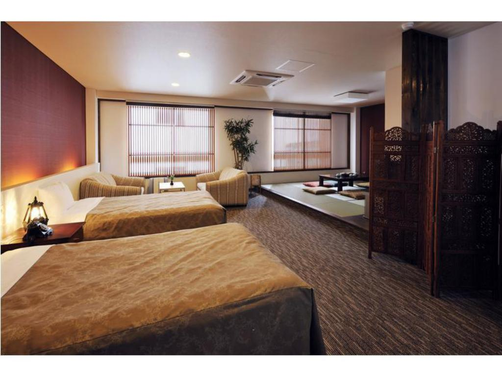 Special Japanese/Western-style Asian Suite (2 Beds) - Guestroom