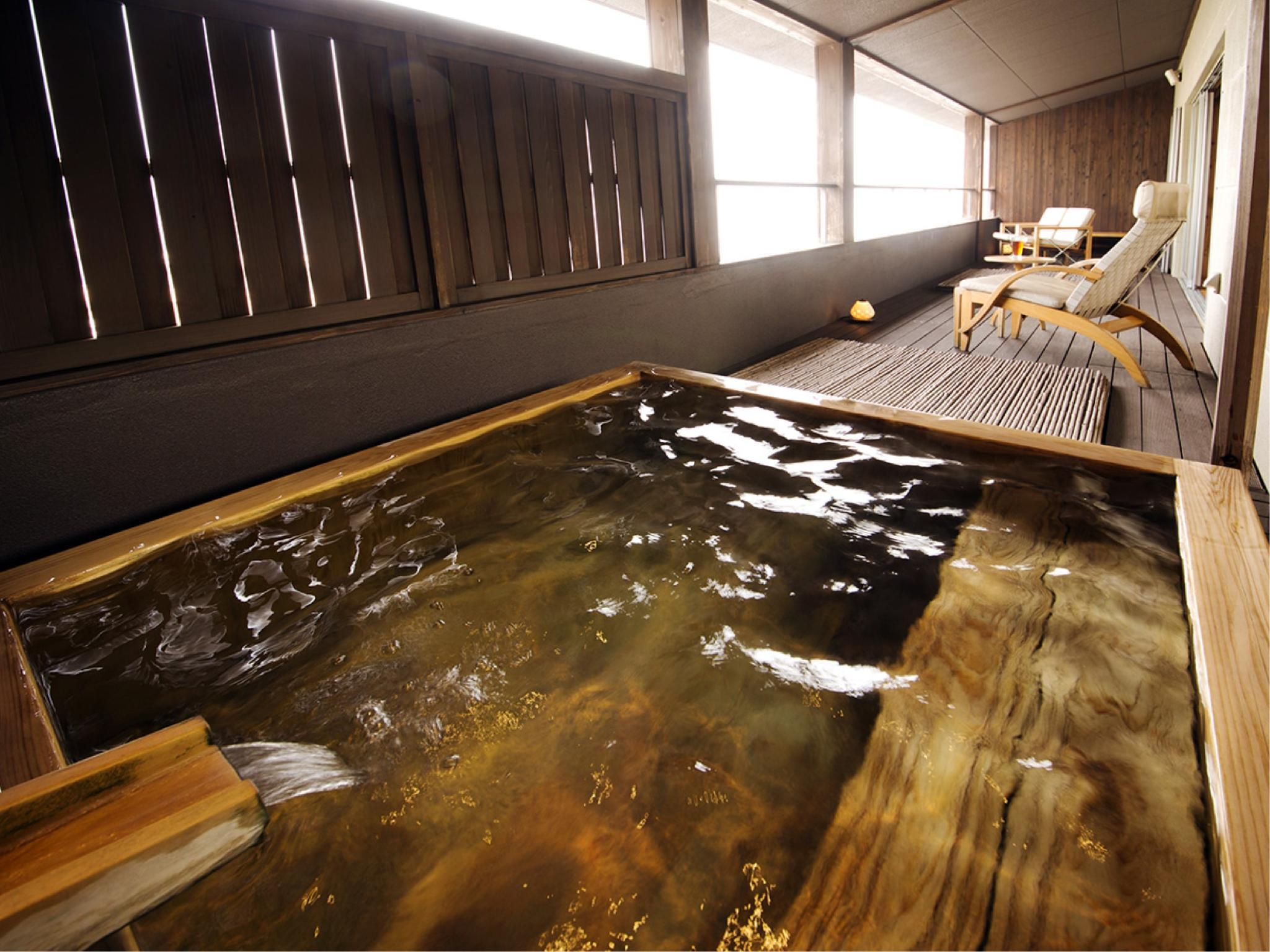 醉帆樓 附露天風呂客房(無法指定客房條件) (Guestroom with Open-air Bath (Suihanro Type) *Allocated on arrival)