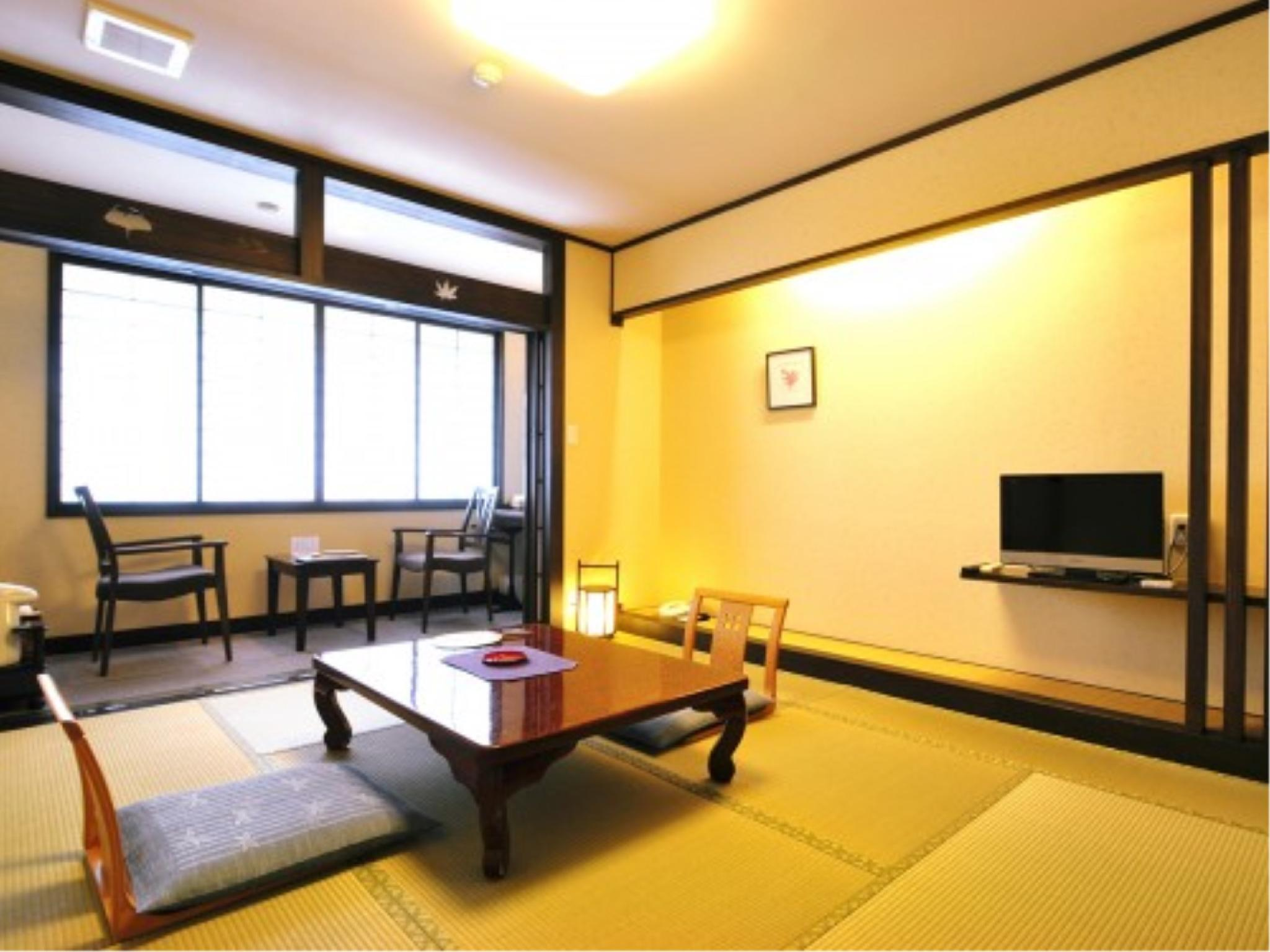 本館・和室7畳(広縁・椅子あり) (Japanese-style Room with Hiroen Space & Chairs (Main Building))