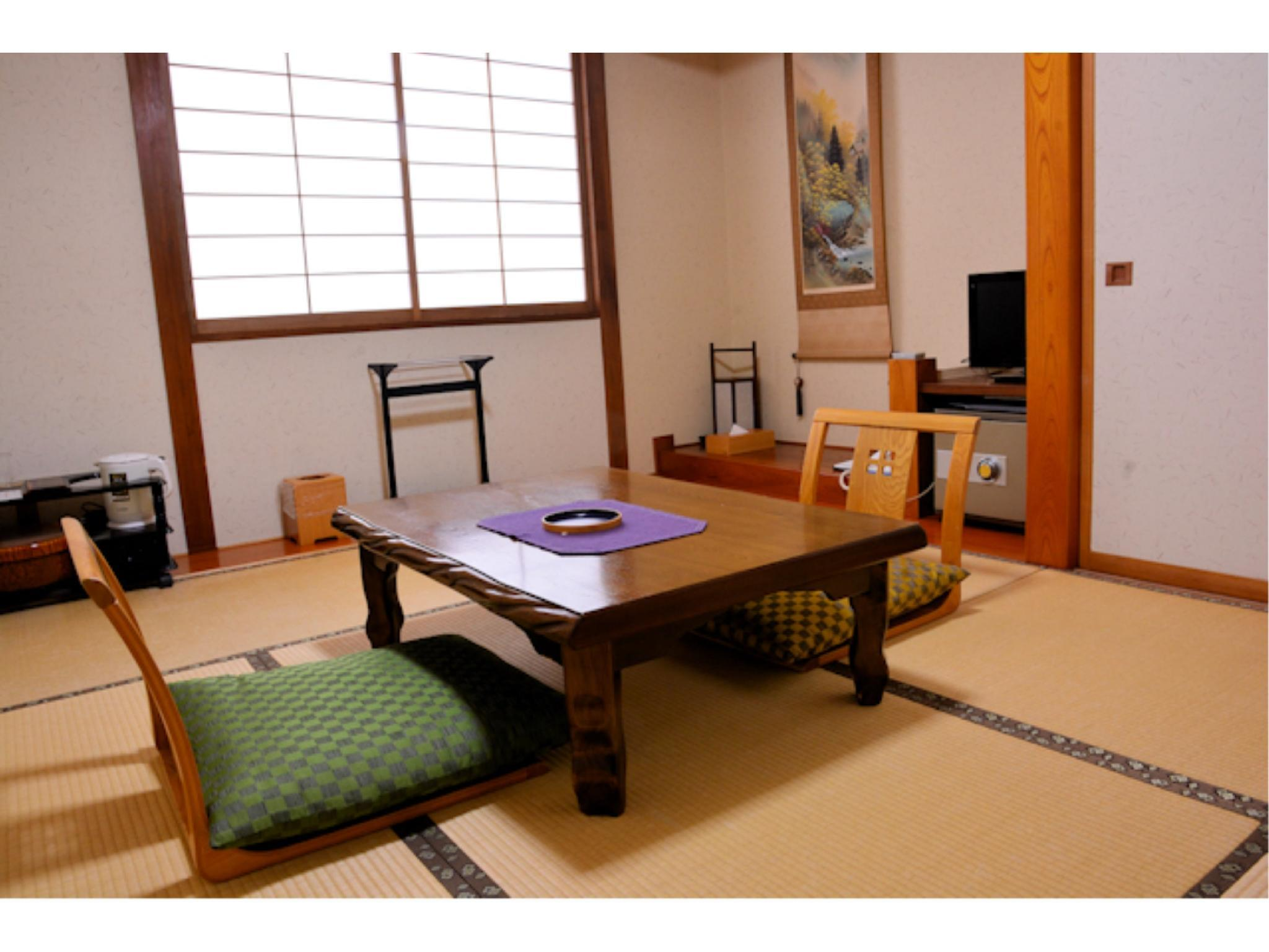 本館・和室6畳(広縁・椅子なし) (Japanese-style Room (Main Building) *No hiroen space or chairs)