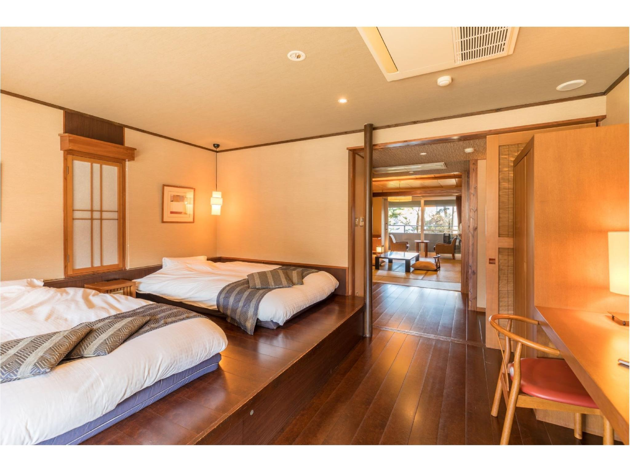 Maisonette Suite with Open-air Bath (Toki no Club Type, Detached Wing)