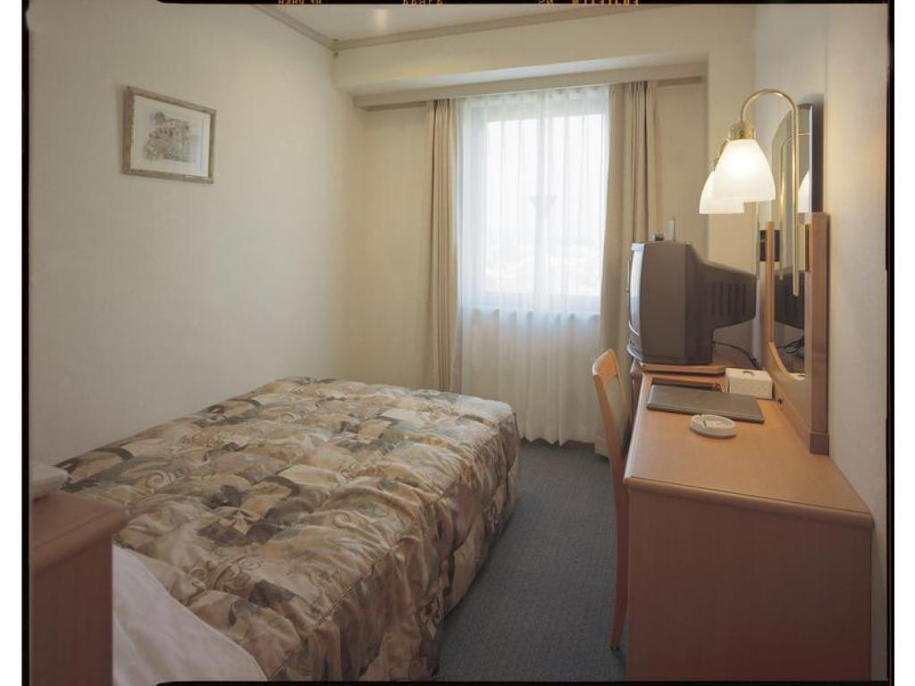 Single Room - Guestroom Hotel Sunroute Patio Goshogawara