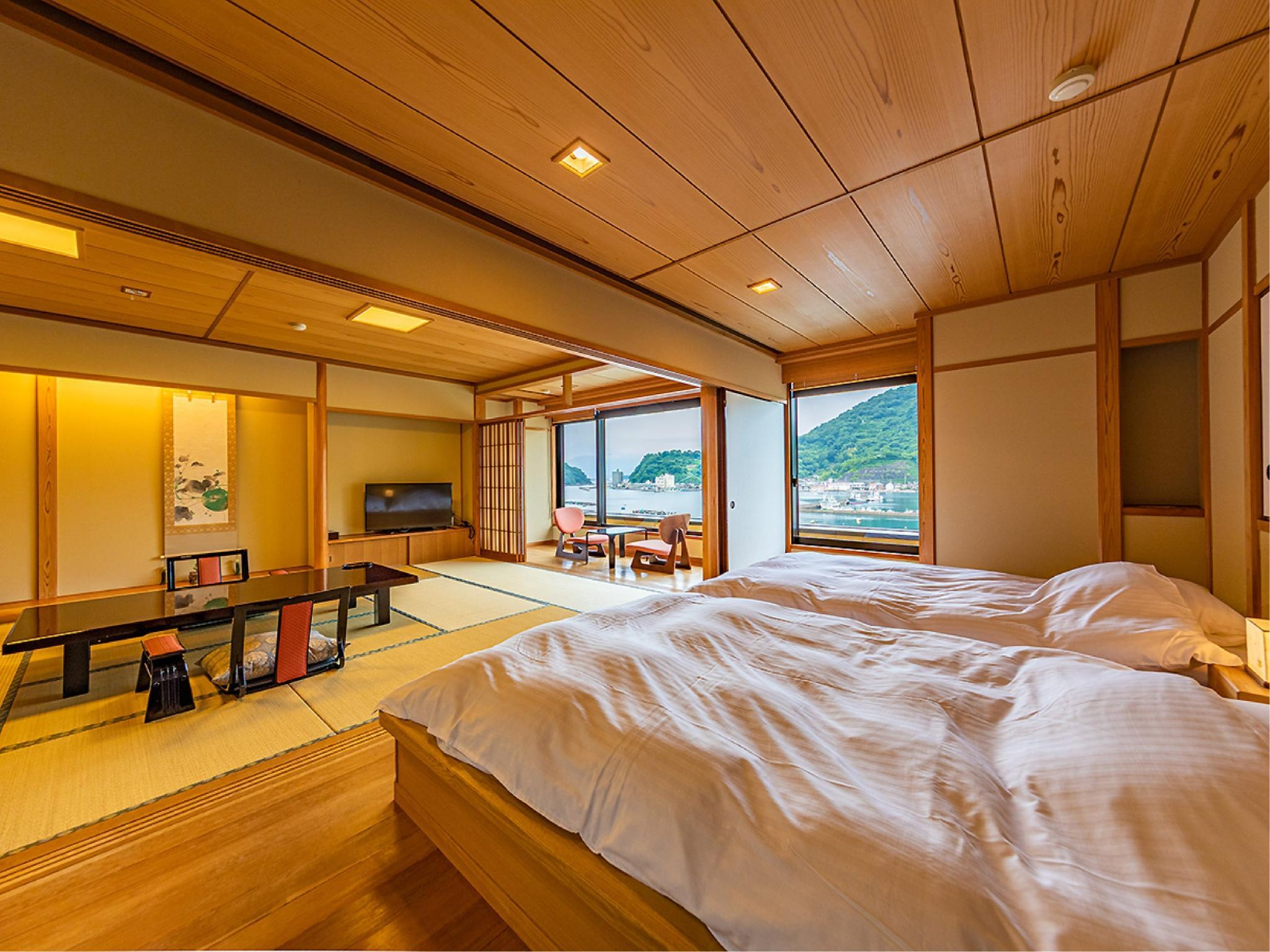 日式客房 - 有半露天浴池 (Japanese Style Room with Semi Open-Air Bath)