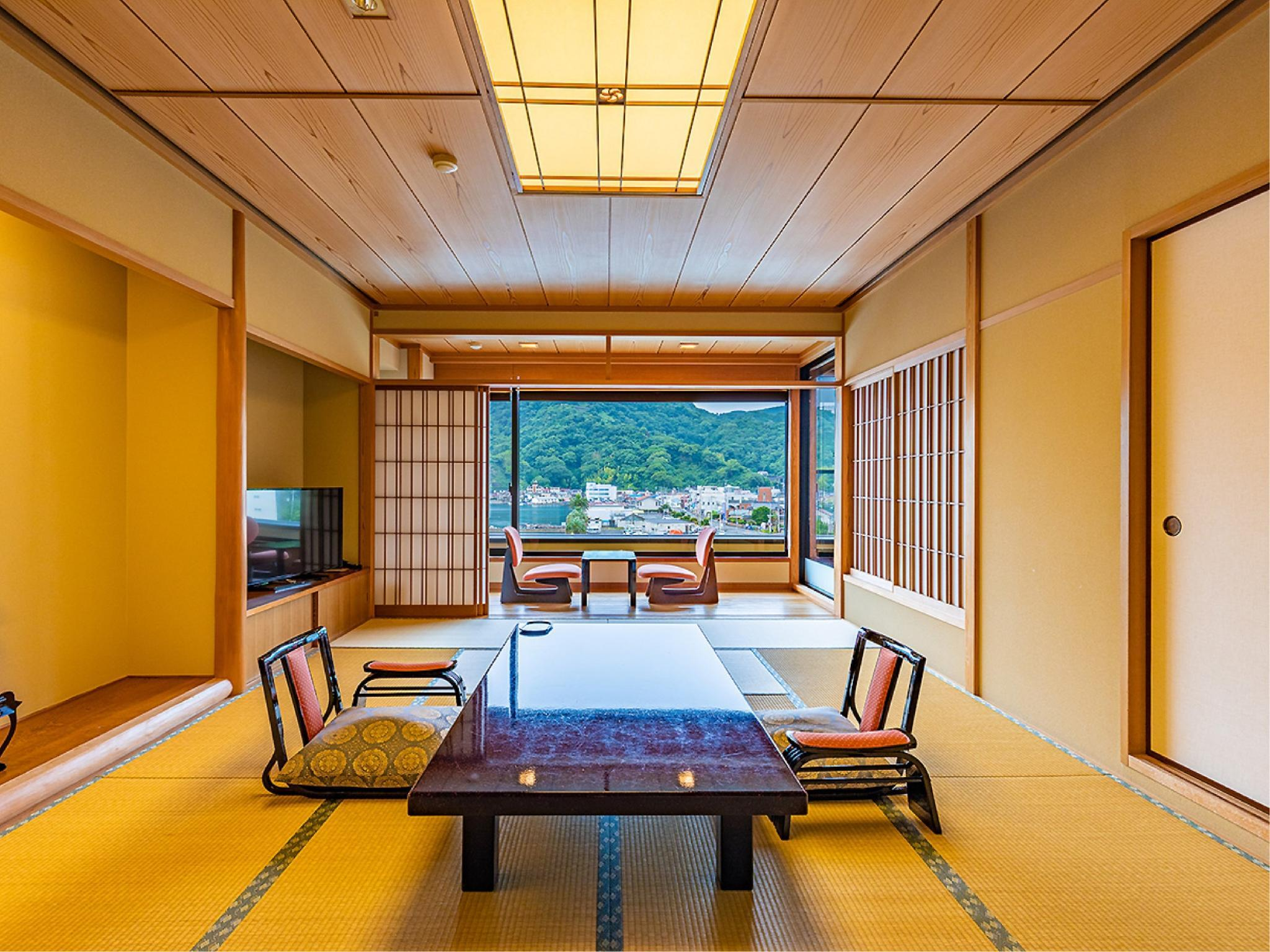 見 和式房+半露天風呂 (Japanese-style Room with Semi Open-air Bath (Miru Type))