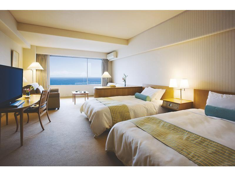 南館 オーシャンビュー洋室|31平米 (Western-style Room (Ocean View, South Wing))