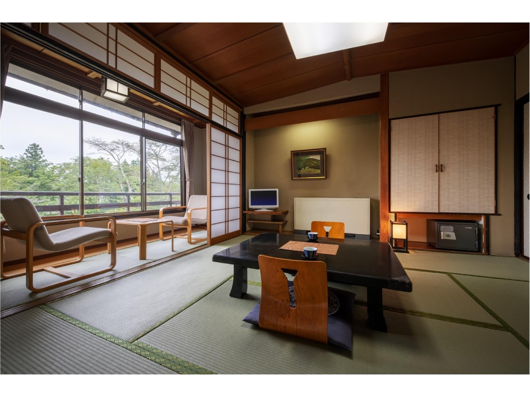 彌生亭 和式房※有廁所無浴室 (Japanese-style Room (Yayoitei Wing) *Has toilet, no bath in room)