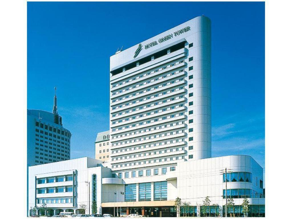 Exterior view Hotel Green Tower Makuhari