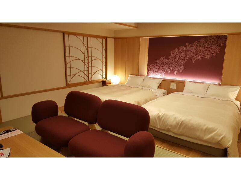 雙人雙床房(日式摩登或日式原木摩登房) (Modern Japanese-style Twin Room or Modern Japanese Wood Room)