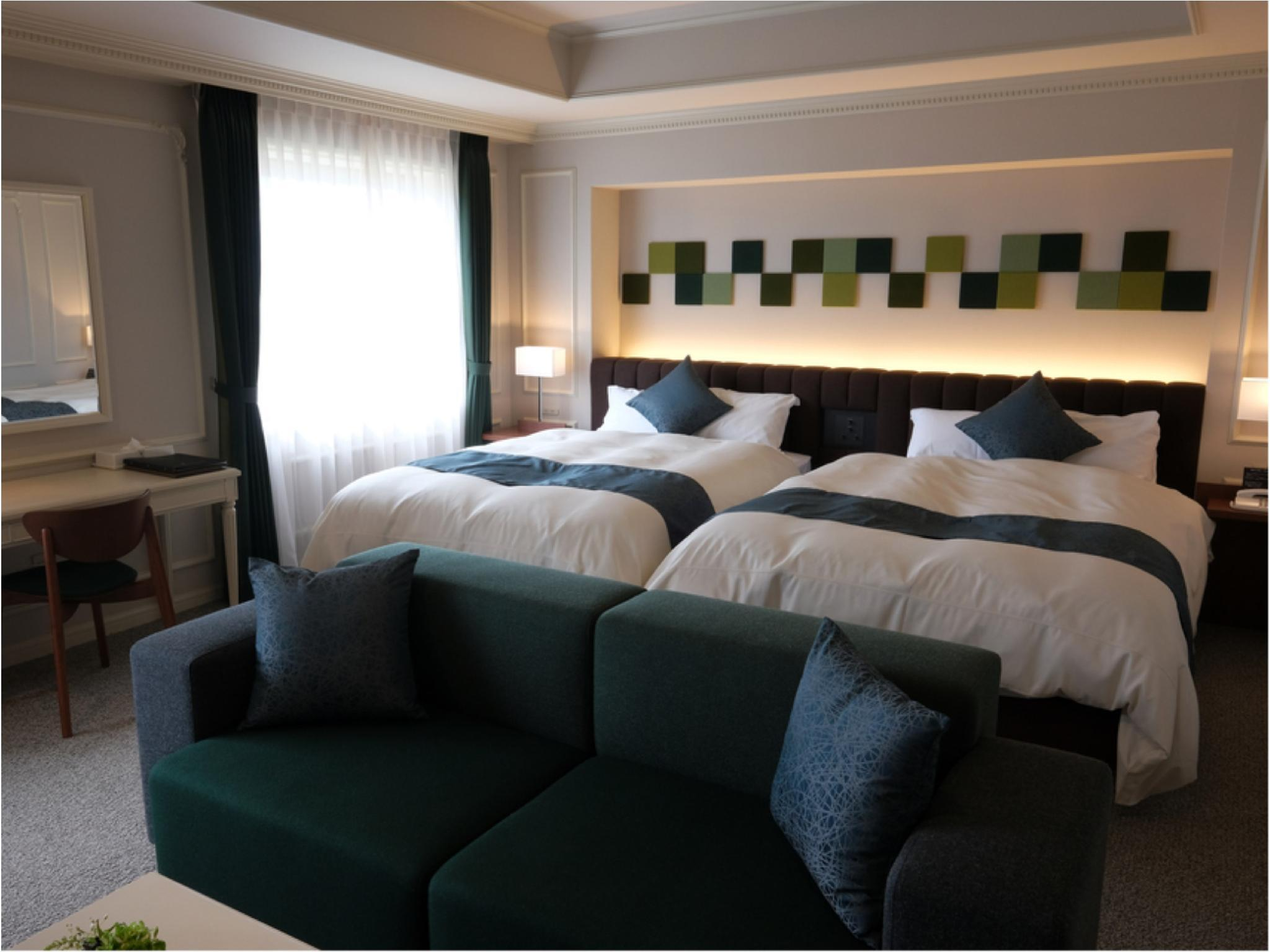 트윈룸 (Natural Modern Twin Room or Premium Room)