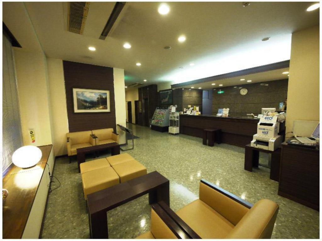 大堂 露樱COURT酒店 上野原 (Hotel Route-Inn Court Uenohara)