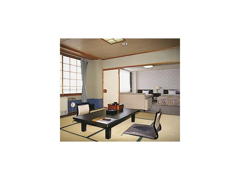 和洋式房(2张床) (Japanese/Western-style Room (2 Beds))