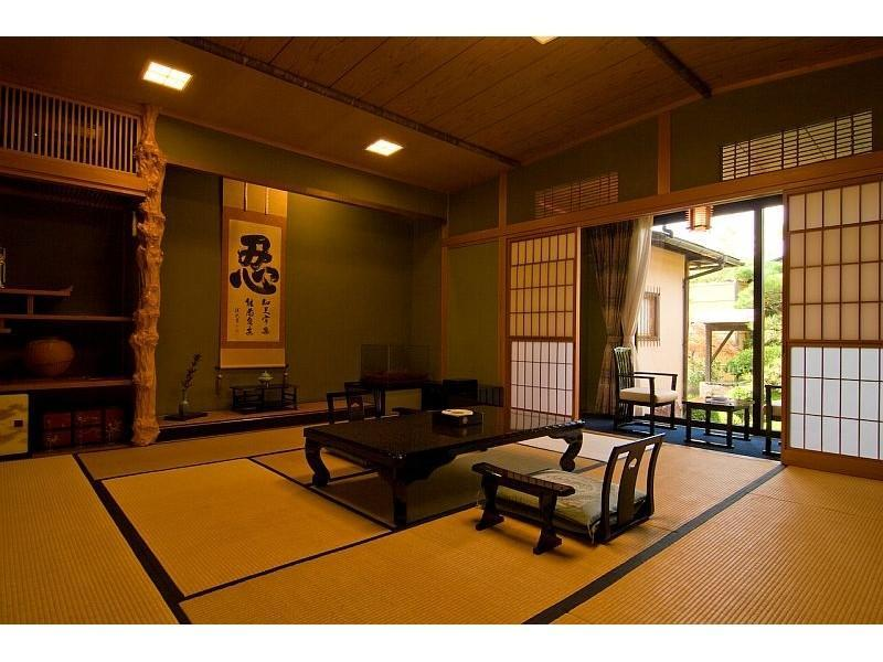 特别和式房+露天风吕 (Special Japanese-style Room with Open-air Bath)