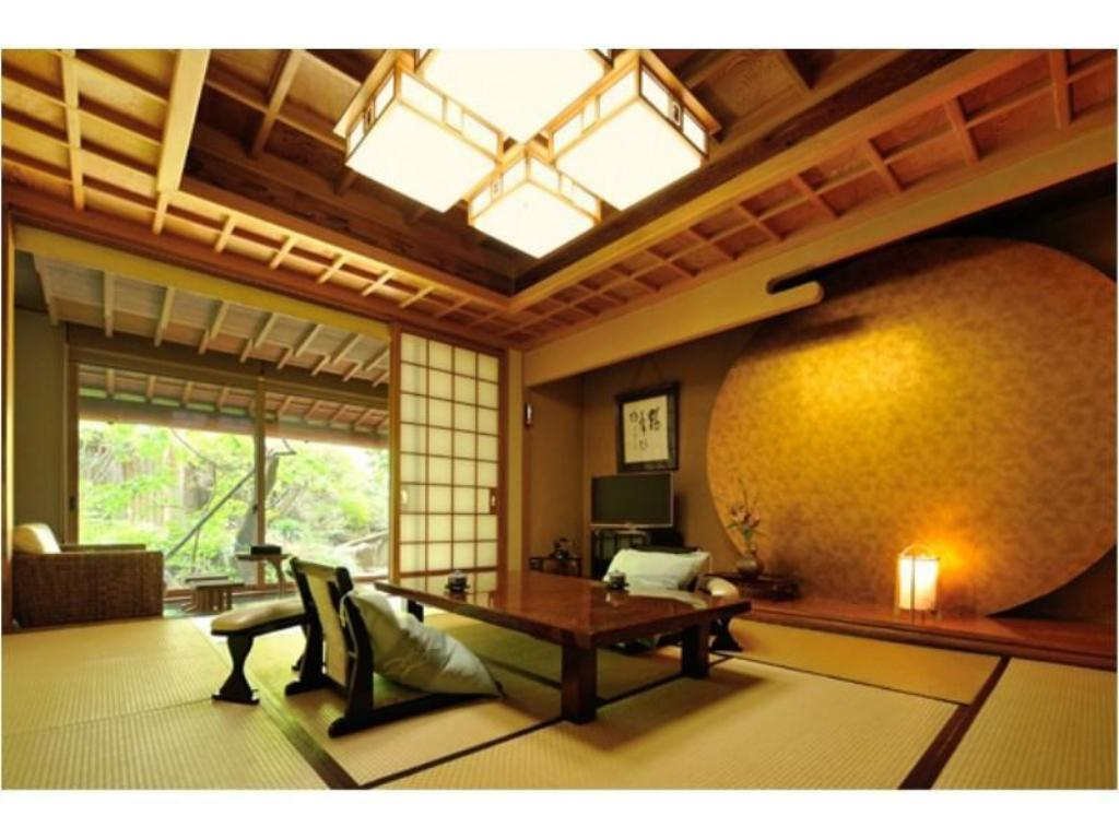 Japanese-style Room with Open-air Bath (10 tatami, Katsura Type) - Guestroom